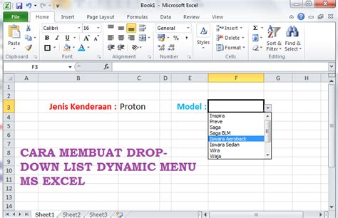 software untuk membuat menu dropdown excel tutorial cara membuat drop down list dependent