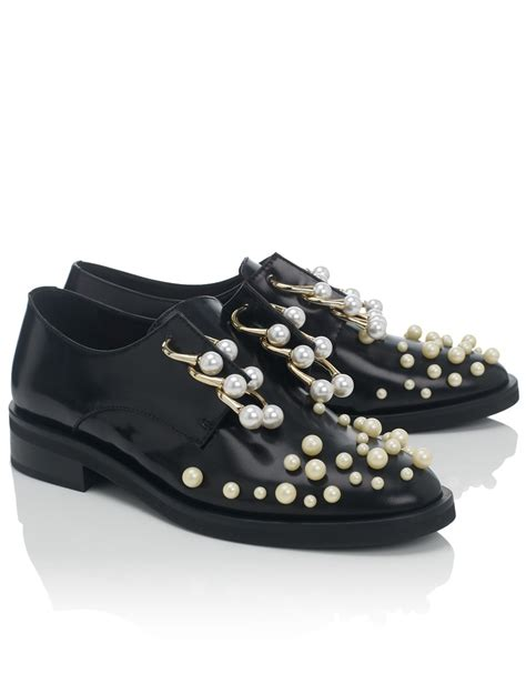 coliac black pearl derby martina shoes in black lyst