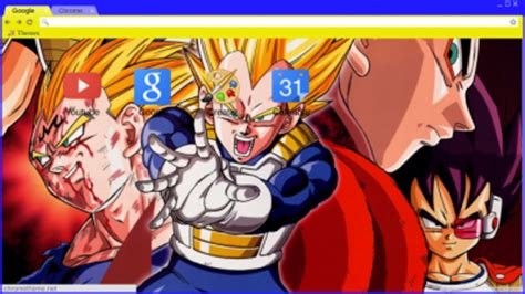 dragon ball z themes for google chrome dragon ball z chrome themes themebeta