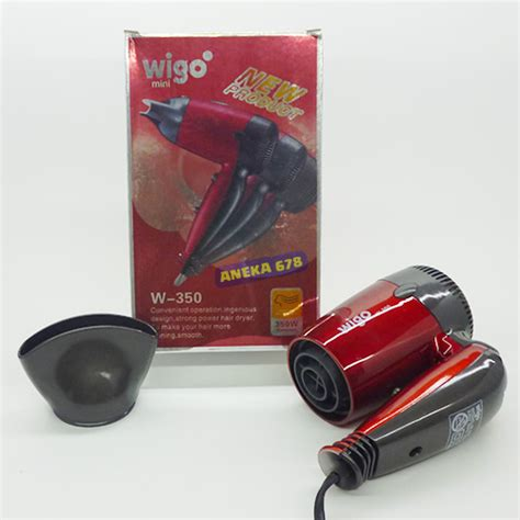 jual hair dryer wigo mini w 350 foldable hairdryer w350