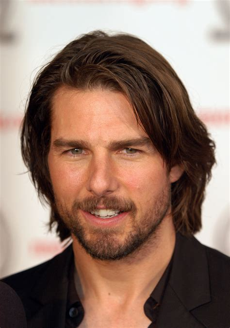 male bob hairstyle tom cruise 15 hot celebrity guys who make the man bob
