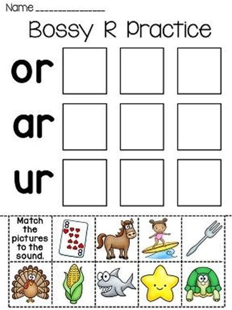 R Controlled Worksheets by 58 Best R Controlled Vowels Images On Teaching