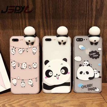 Iphone 6 Plus 6s Plus Soft Panda Silk Casing Silikon Cover shop kawaii phone on wanelo