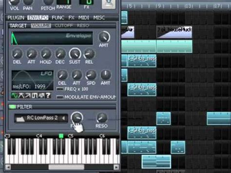 tutorial lmms youtube lmms tutorial building a string preset youtube