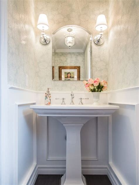 small pedestal sinks for powder room powder room pedestal sink houzz