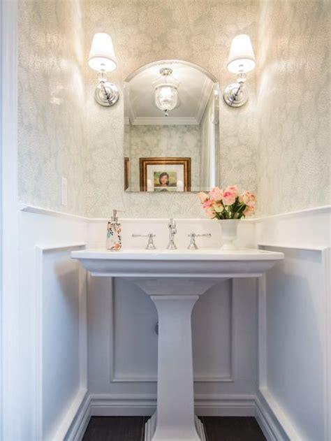 Powder Room Pedestal Sink Houzz