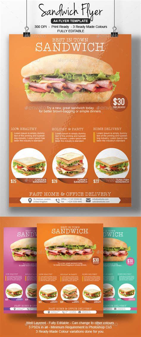 exle sandwich shop flyer 187 dondrup