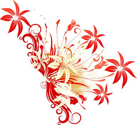 flower vector png   clip art  clip