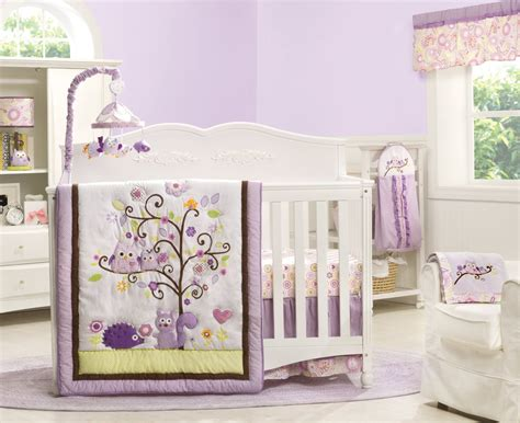 Baby Owl Crib Bedding by Dena Owl Blossom Baby Bedding Collection Baby Bedding