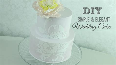 Wedding Cakes Easy To Make by Beautiful Easy To Make Wedding Cake Idea In 2017