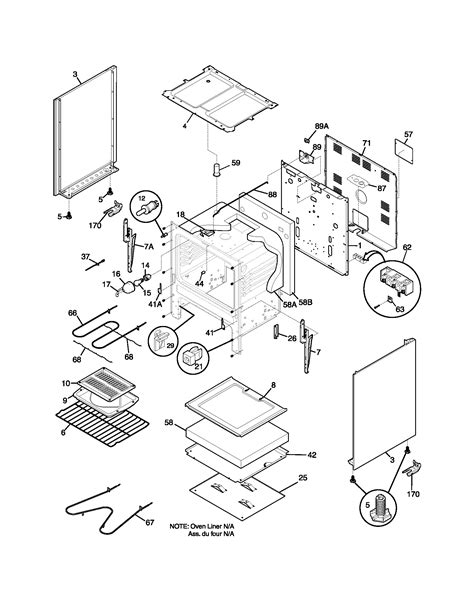frigidaire oven parts diagram frigidaire fef352aug electric range timer stove clocks