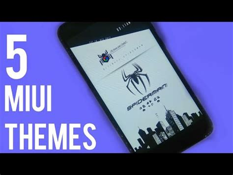 best themes redmi 1s best 5 themes for miui 9 miui 8 redmi note 4 redmi 4 youtube