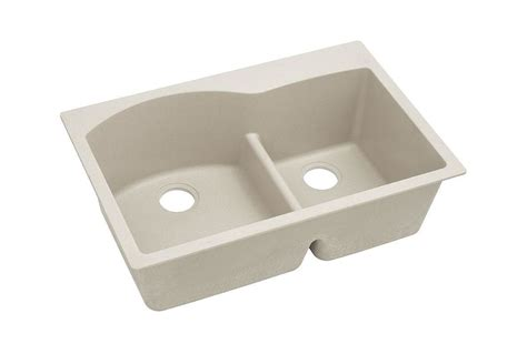Elkay Granite Composite Sinks by Elkay Elgh3322rbq0 Bisque Harmony 33 Quot Basin Granite