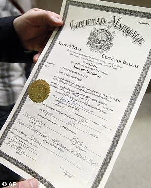 Marriage Records Dallas County Attorney General Says State Workers Can Deny