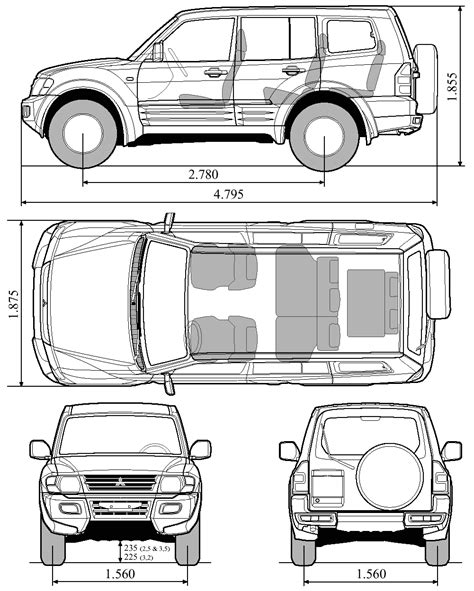 car owners manuals free downloads 2005 mitsubishi pajero transmission control car mitsubishi pajero gls the photo thumbnail image of figure drawing pictures schematize car