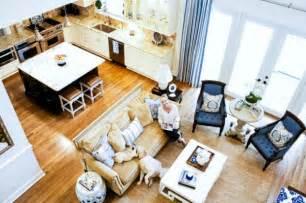 Open concept kitchen living room design ideas 13 620x412