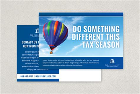 Professional Tax Preparation Postcard Template Inkd Tax Preparation Postcards Templates