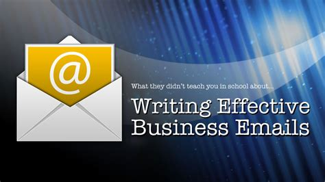 Course On Businesses What You Should by Web Based Writing Effective Business Emails