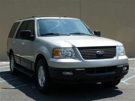 Expedition 6655 Silver Grey Leather sell used 04 ford expedition xlt leather 4 6l 4x4 106k no reserve in frankford