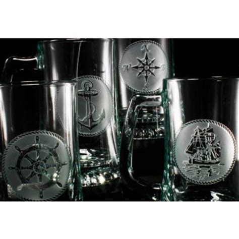 nautical barware nautical glassware