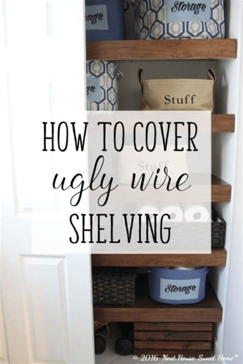 wire shelving covers best 25 wire shelves ideas on