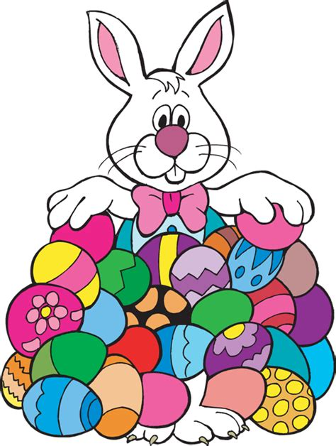 easter bunny clipart easter bunny with eggs clipart clipart panda free
