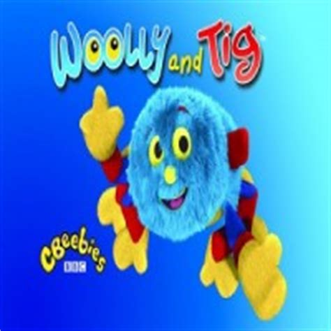 jamie oram role of woolley in woolley & tig cbeebies
