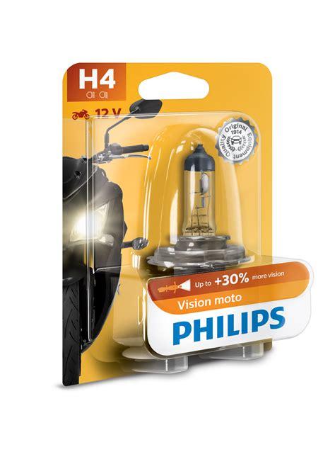 Lu Philips Blue Vision Moto moto vision h4 mc p 230 re philips landberg dk