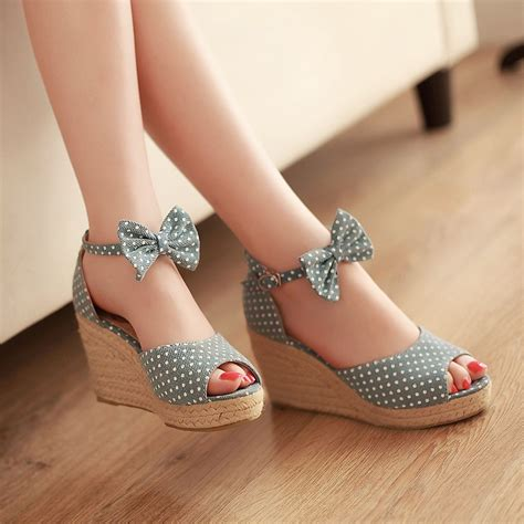 Pretty Heels For Summer by I Shoes Shoes Wedge Shoes