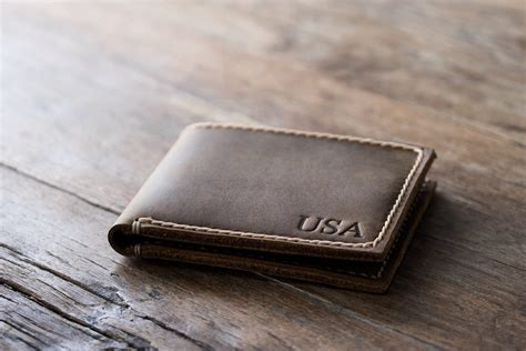 Handmade Wallets For - big leather wallet personalized joojoobs