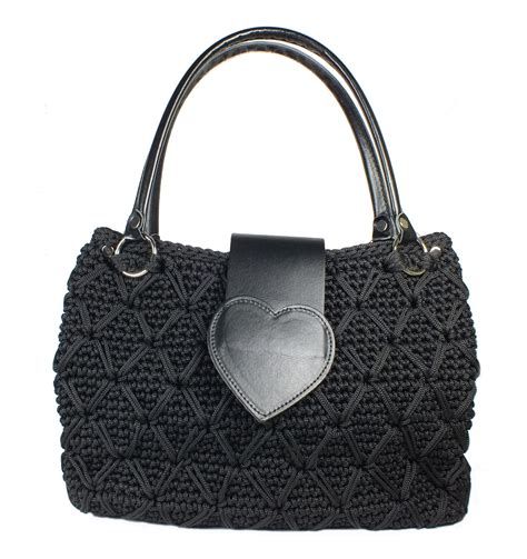 Crochet Handmade Bags - crochet handmade handbags dazzys one handbags uk