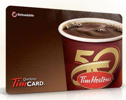 Tim Hortons Personalized Gift Card - win 300 tim hortons gift card free stuff finder canada
