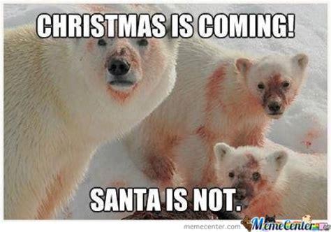Christmas Is Coming Meme - funny santa