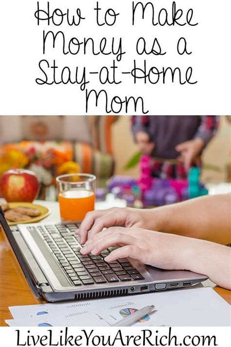 how to make money as a stay at home home home