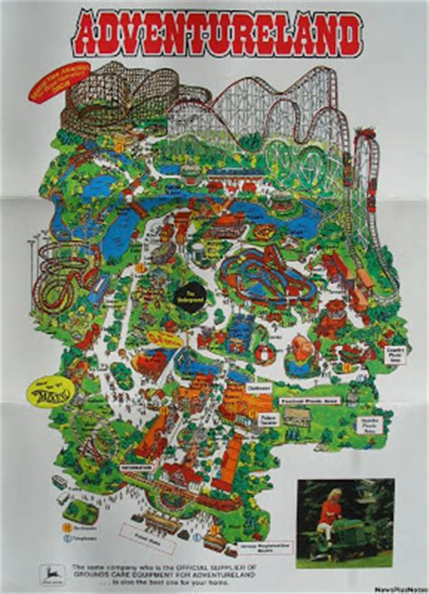 sty adventure maps newsplusnotes adventureland 1997 map