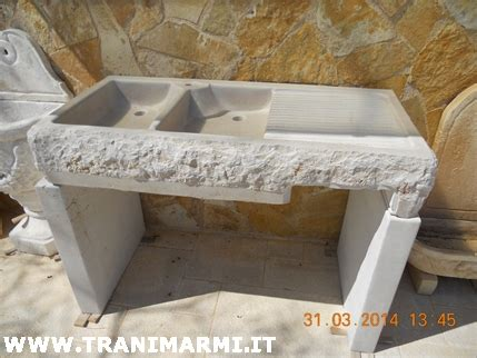 lavello in pietra trani marmi s r l lavorazione della pietra di trani