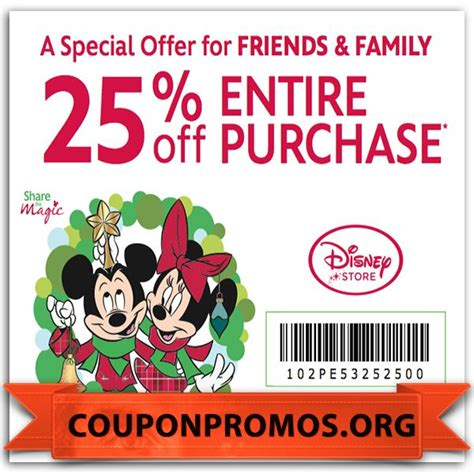 disney outlet printable coupons free printable disney store discount coupons for august