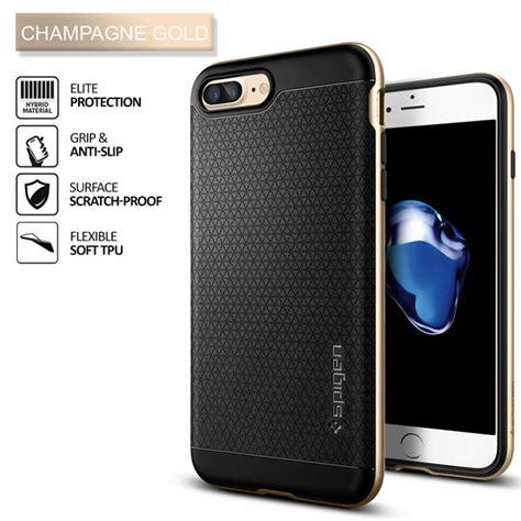 Spigen Neo Hybrid For Iphone 7 Plus Chagne Go Limited iphone 7 plus genuine spigen neo hybrid dual layer bumper cover for apple