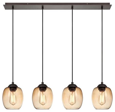 multi pendant lighting kitchen george kovacs bubble bronze 4 light island kitchen