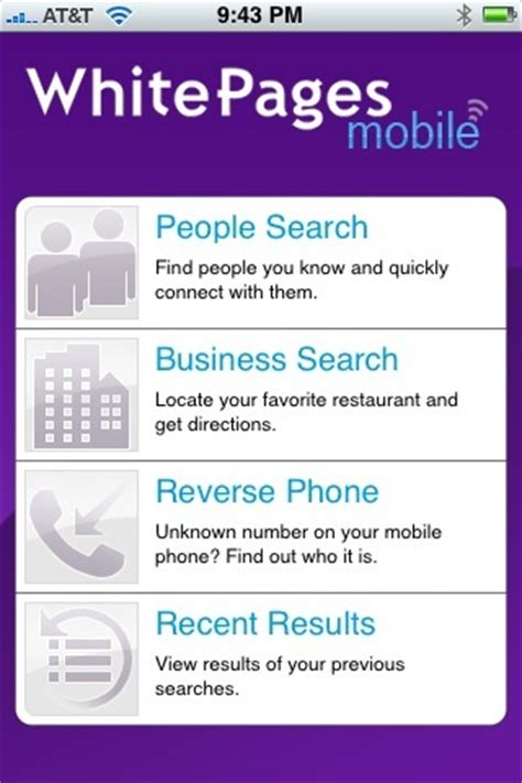 Yahoo Free White Pages Search White Pages Free Phone Finder App