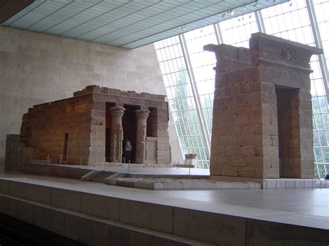 temple of dendur the nile valley aswan and nubia