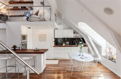 attic kitchen ideas 19 cool attic kitchen design ideas