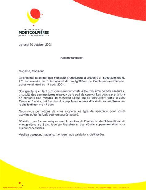 Lettre De Référence école Letter Of Application Lettre De Reference Client