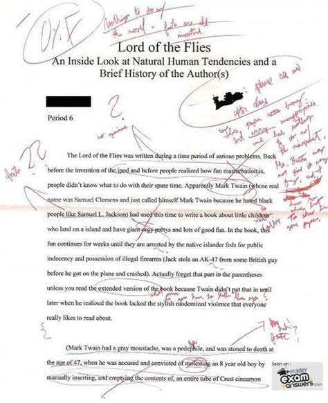 Lord Of The Flies Essay Prompts by Lord Of The Flies Essay Topics Outline Docoments Ojazlink