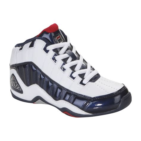 basketball shoes fila fila boy s dls 95 basketball shoe white clothing