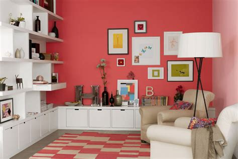 cool coral wall paint wall feature wall paint colour ideas