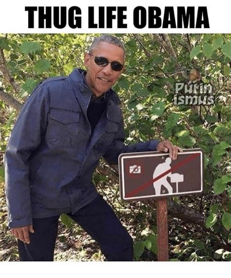thug meme thug obama meme on me me