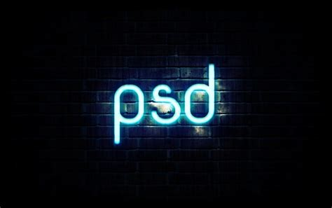design font photoshop learn how to create neon text in photoshop psdstation com