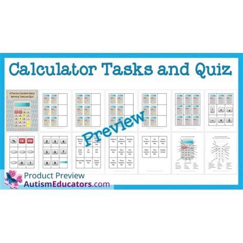 calculator quiz calculator tasks and quiz
