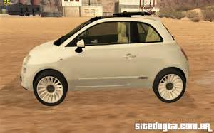 Fiat 500 Lounge 2010 Fiat 500 Lounge 2010 Para Gta San Andreas Site Do Gta